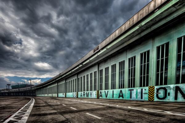Berlin Tempelhof Hangar Gate
