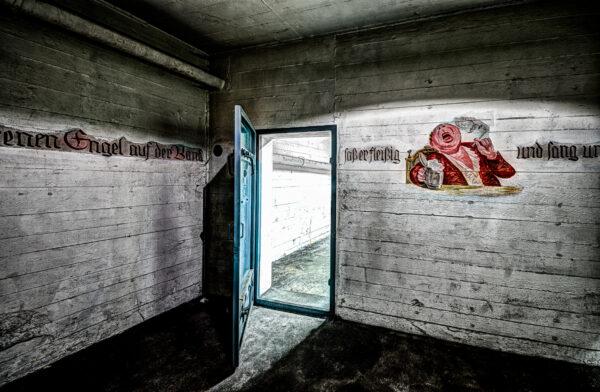 Berlin Tempelhof - The shelter # 5 - Art for the children