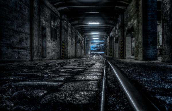 Berlin Tempelhof - The tunnel