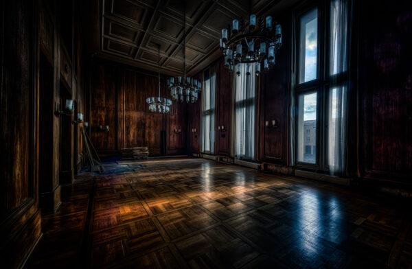 Berlin Tempelhof ballroom