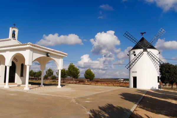 Windmill in Mota del Cuervo # 2