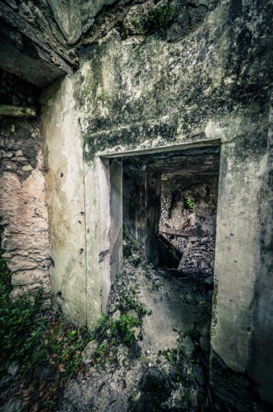 San Pietro Infine Abandoned interior