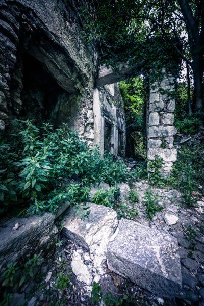 San Pietro Infine Abandoned house