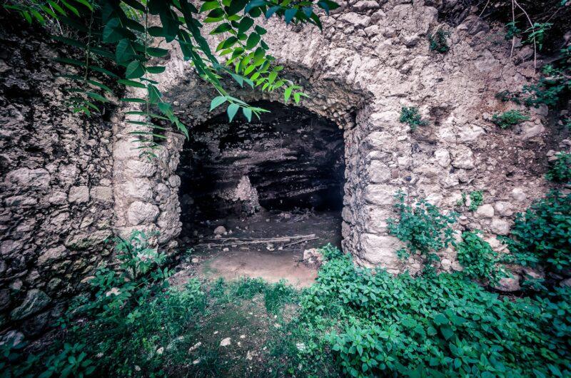 San Pietro Infine Caves entrance