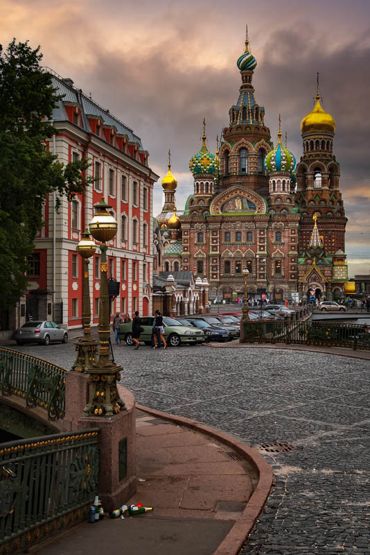 Evening at the Cathedral - Saint Peterburg