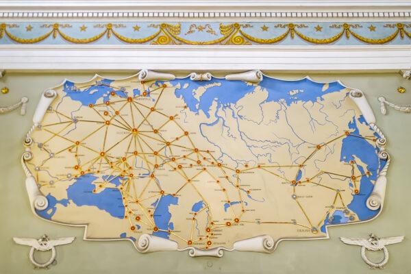 San Pietroburgo - Pulkovo - la mappa