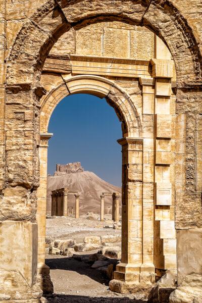Fakhr-al-Din al-Maani Castle from Palmyra