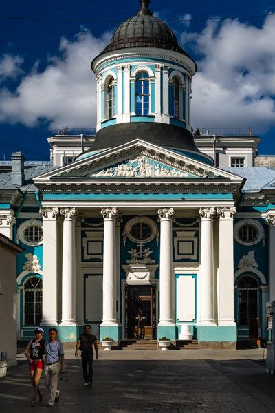 5 beautiful attractions to visit in Saint Petersburg  - Armenian Church of Saint Catherine, Nevsky Prospekt, Saint Petersburg
