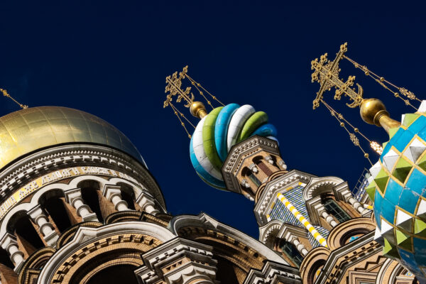 5 beautiful attractions to visit in Saint Petersburg  - Church of the spilled blood domes