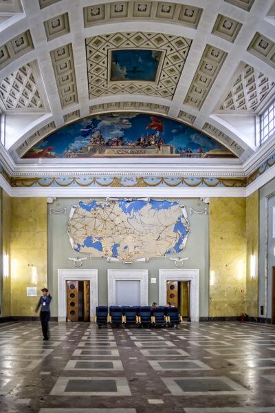 Inside Pulkovo 2 Terminal