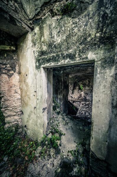 San Pietro Infine - Case distrutte