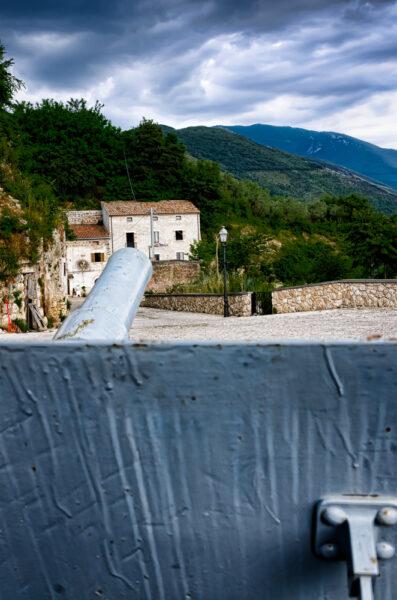 San Pietro Infine Cannone puntto sulla valle