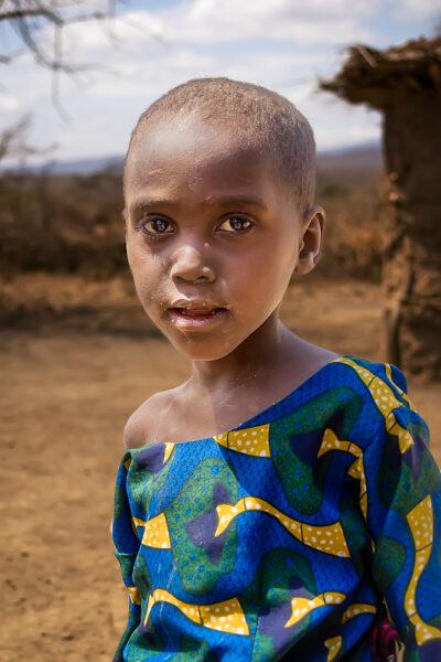 Visiting Datooga of Tanzania Young Datooga girl