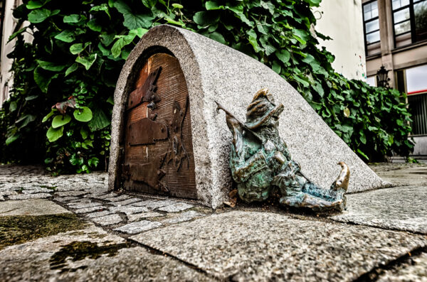 This is my house - Wroclaw gnomes