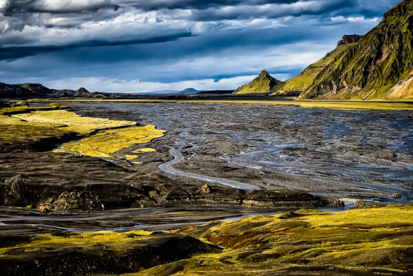 Kudafljot river delta