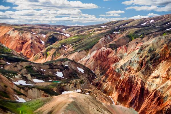 Multicolor valley - Iceland