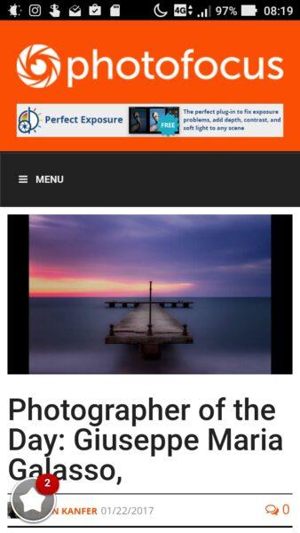 Photographer of the day: Giuseppe Maria Galasso