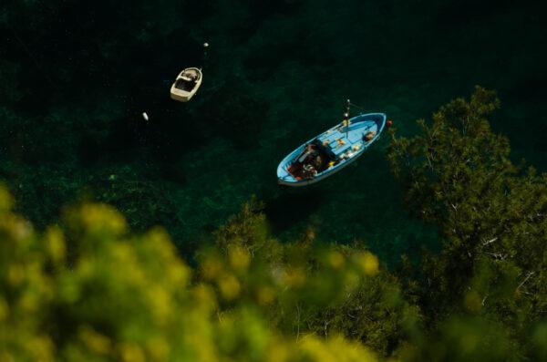 Barche di pescatori Conca dei Marini