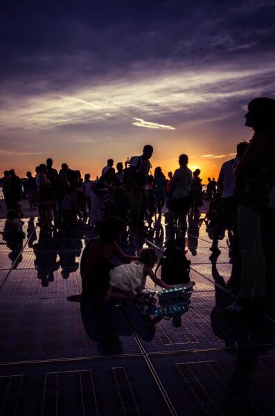 Greetings to the sun, Zadar