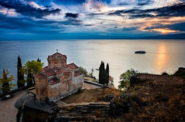 Ocrida, perla di lago - San Giovanni a Kaneo
