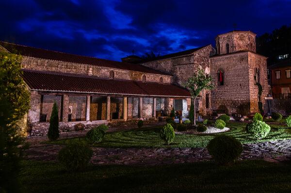 Ocrida, perla di lago. Basilica di Santa Sofia