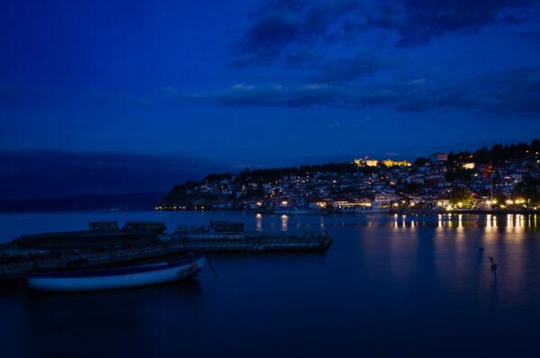 Ocrida Blue hour