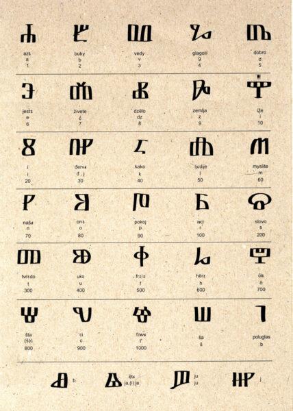 Alfabeto glagolitico