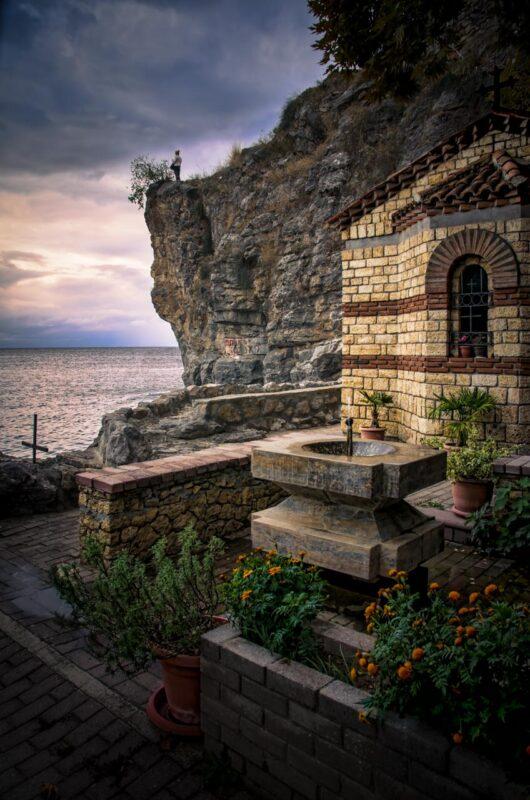 Nativity of the Holy Mother of God Chapel, Kaneo, Ohrid