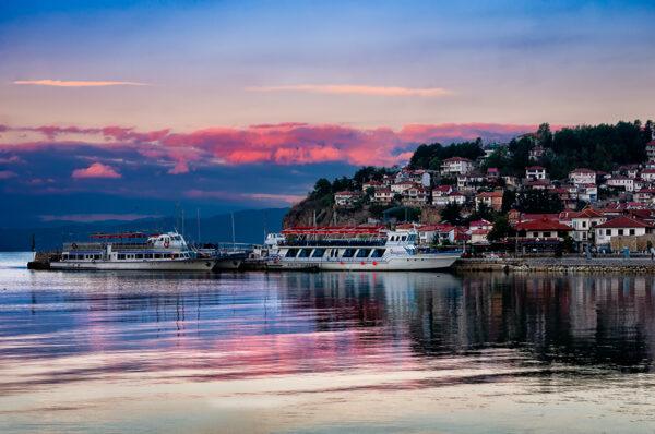 The Magic Of Ohrid Ohrid view at sunrise