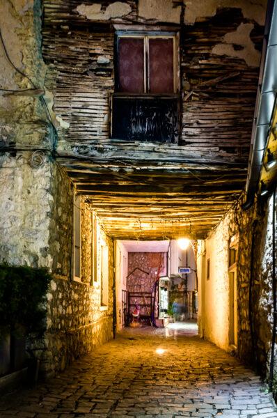 The Magic Of Ohrid Covered street of Ohrid