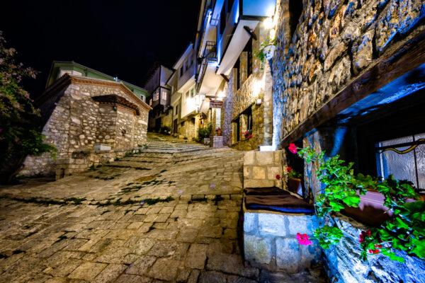 The Magic Of Ohrid Old street of Ohrid