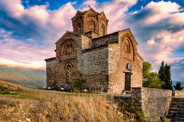 The Magic Of Ohrid - Church of St. John the Theologian at Kaneo, Ohrid