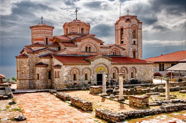 The Magic Of Ohrid San Pantelejmon church at Plaoshnik, Ohrid