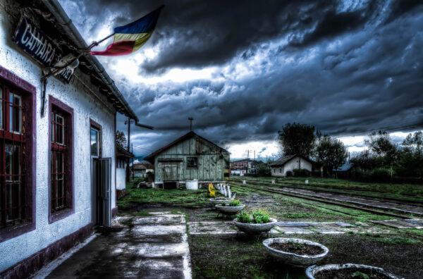 Stazione di Cămara Sighet Maramures Romania