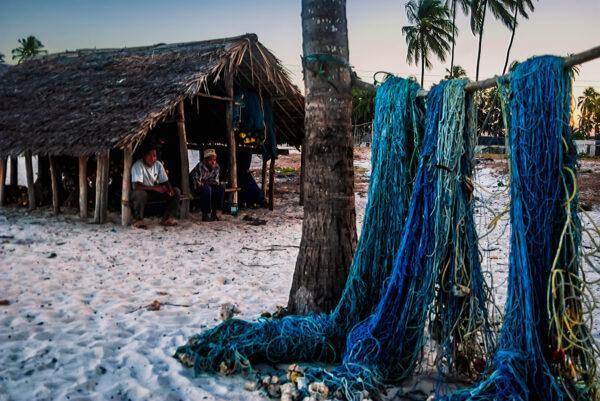 Fishermen in Jambiani, Zanzibar