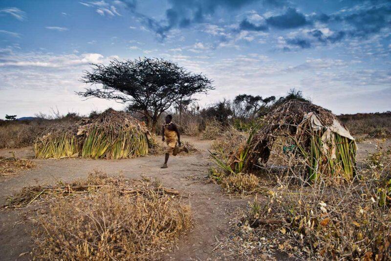 Hadzabe, the last hunters-gatherers . Waking call