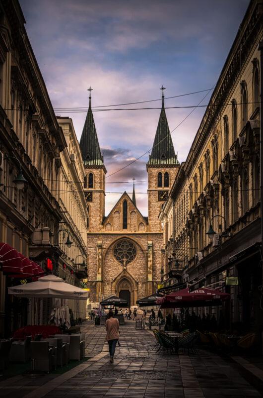 La cattedrale cattolica di Sarajevo