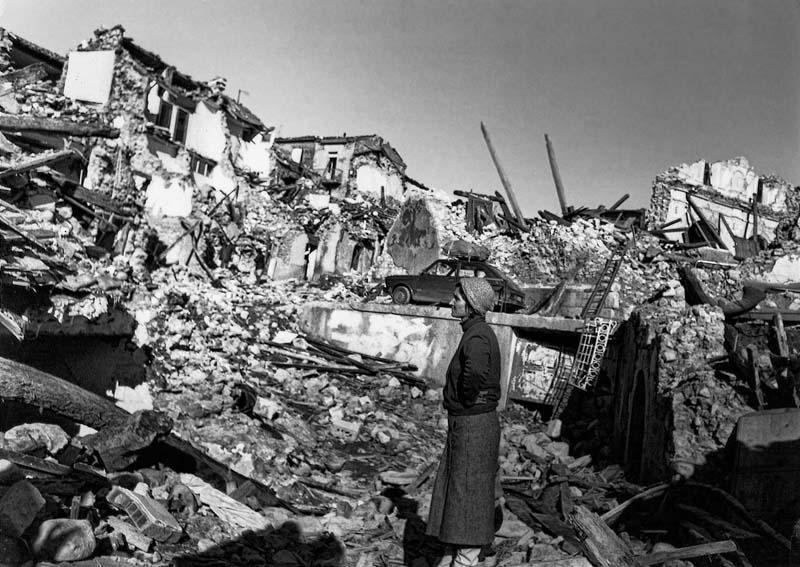 Conza della Campania - 1980 Earthquake